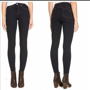 Rag & Bone 10 Inch Skinny Jeans in Soft Harrow 26